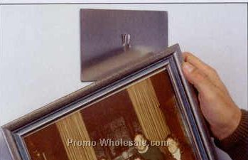 "1-1/2""x3"" Magnetic Picture Hanger (Holds 1 Pounds)"