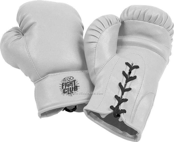 "10""x5""x4"" White 10 Oz Kids Boxing Gloves"