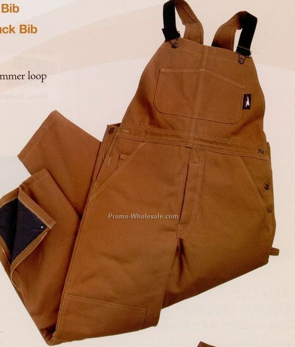 12 Oz. Heavyweight Unlined Duck Bib Overalls (3xl)