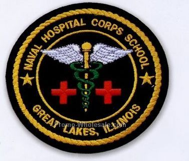 "2"" Custom Embroidered Patch With 100% Coverage"