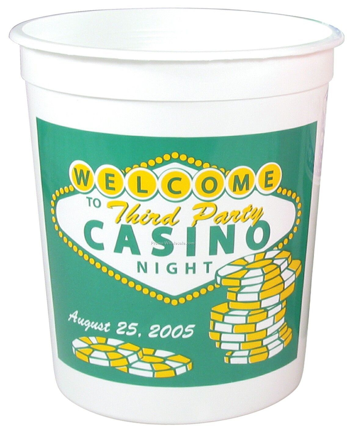 32 Oz. Casino Cup (Offset)