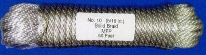 40' Pre-bagged Polypropylene Flagpole Halyard (Model Ph10) Silver