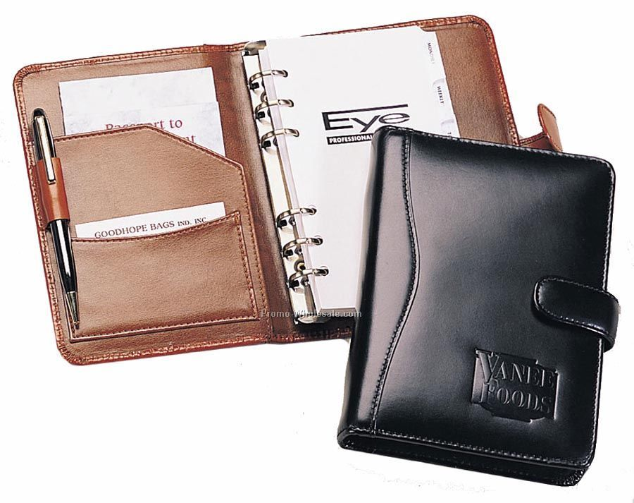 6-ring Leather Agenda