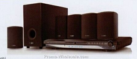 Coby Super Slim DVD Player/ Home Theater System
