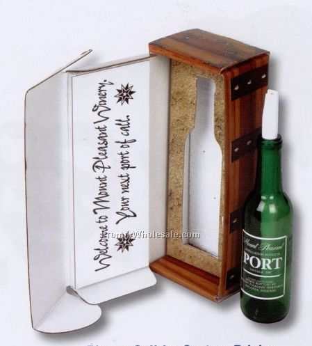 Custom Direct Mail Post Card - Message In A Bottle - Gift Boxed