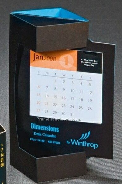 Dimensions Pop Out Desk Calendar