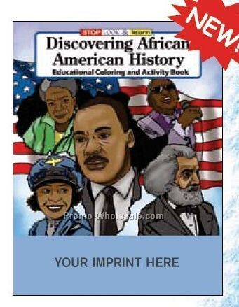 Discovering African American History Coloring Book Fun Pack
