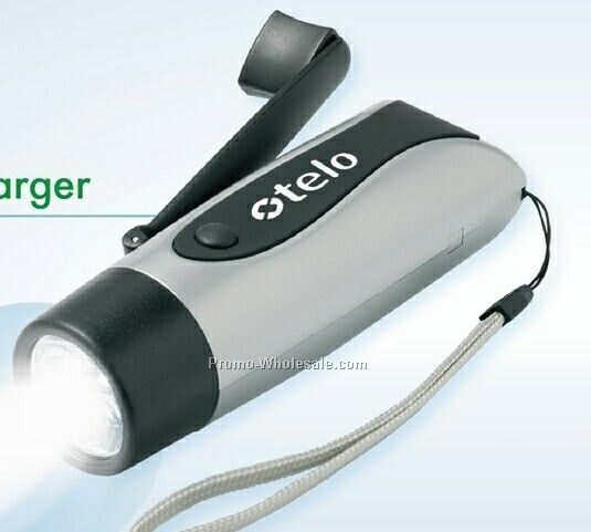 Dyna Go LED Flashlight & Cell Phone Charger