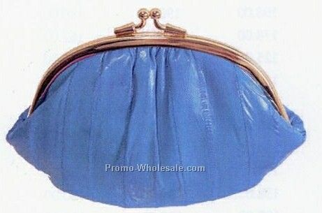 Eelskin Framed Coin Purse