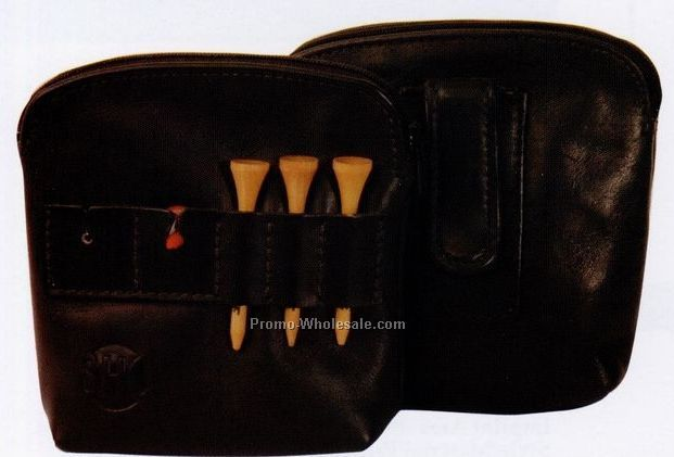 Genuine Leather Sparepocket Golf Clipcaddy (Full Grain)