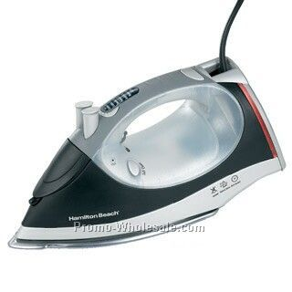 Hamilton Beach Black & Silver Electronic Iron