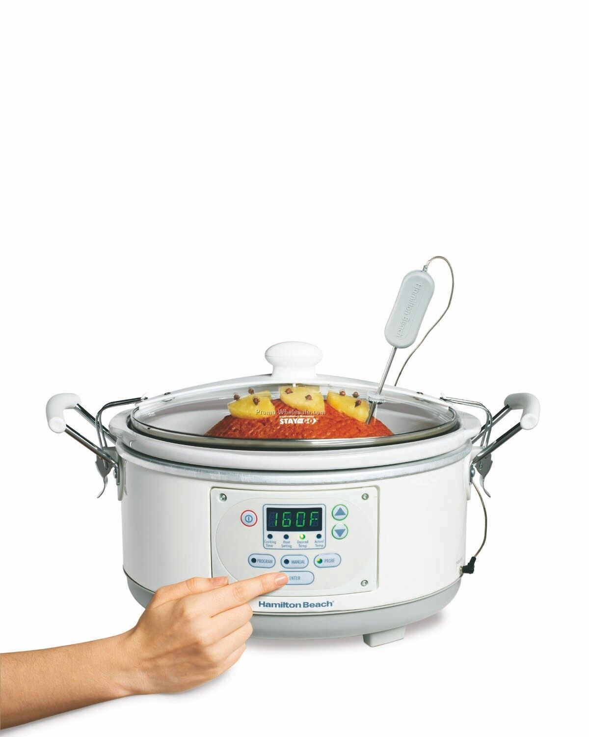 Hamilton Beach Stay-or-go 5-quart Slow Cooker