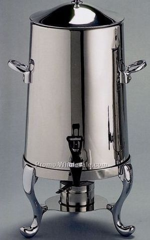 Highly Polished Stainless Steel 100 Cup Coffee Urn