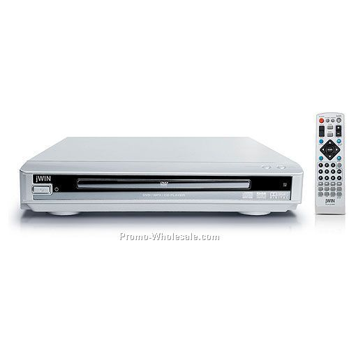 Jwin Compact 2-channel Progressive-scan DVD Player
