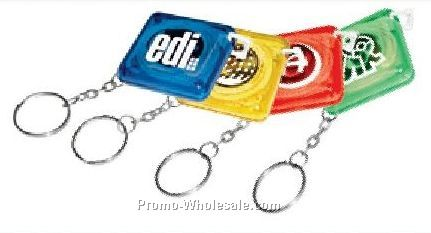 Measuring Tape Key Chain (4 Day Rush Service)