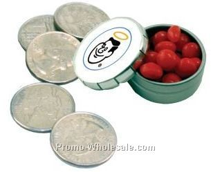 Mini Snap Top Tin W/ Small Peppermints (2 Day Service)
