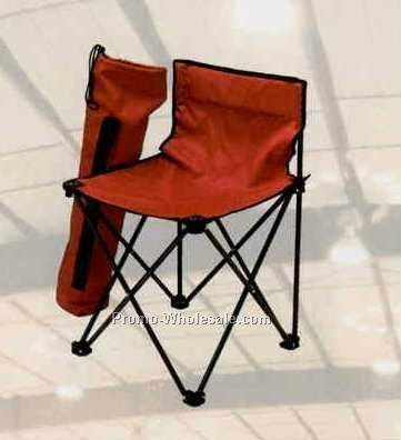 Nylon Folding Sport Quad Chair W/Steel Frame & Nylon Case