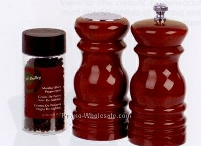 Old Brick Salt Shaker & Pepper Mill Gift Set