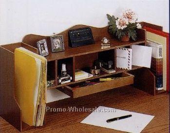 Custom Wood Computer Desk