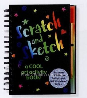 Scratch And Sketch A Cool Art Activity Book