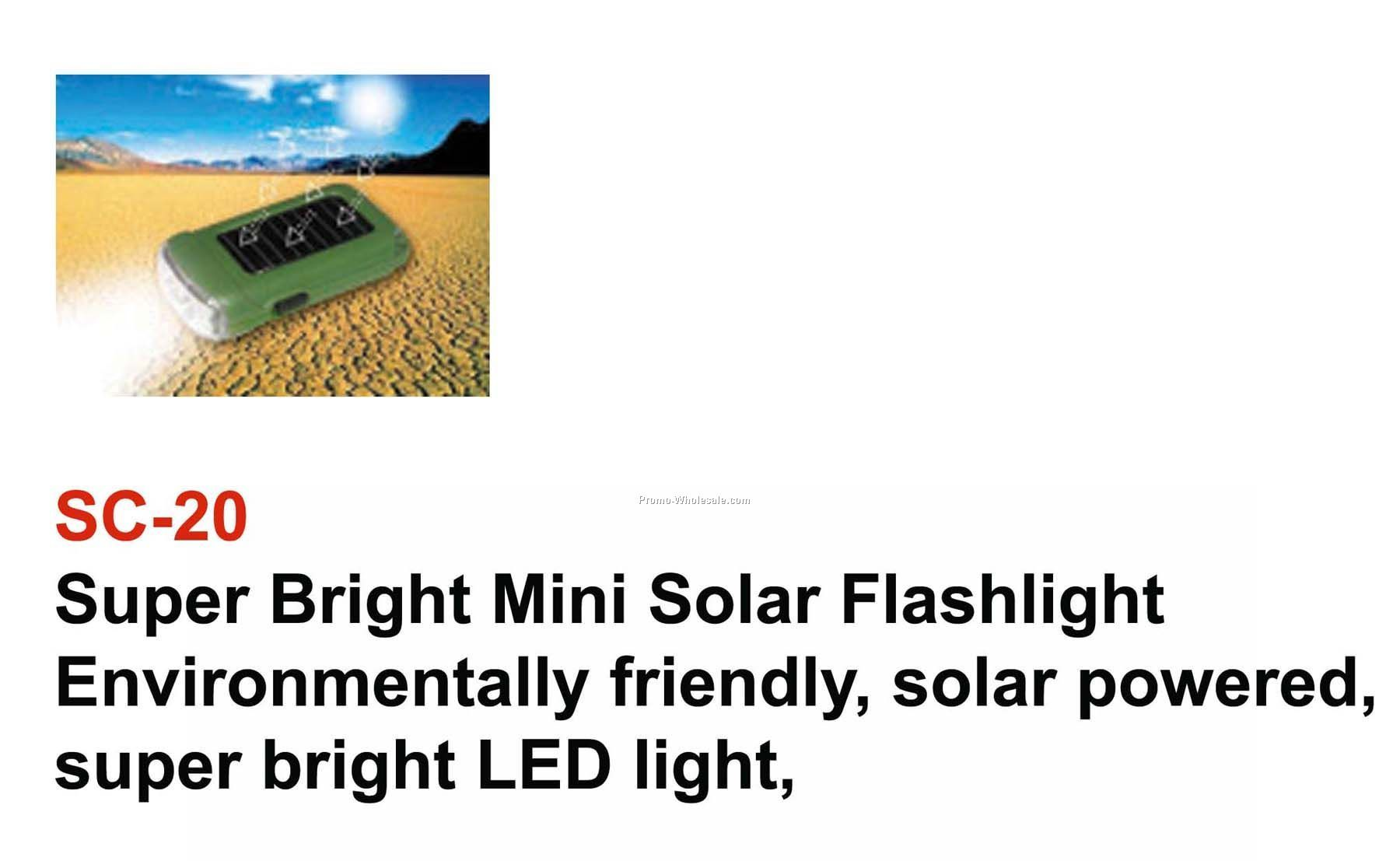 Solar Mini Flashlight
