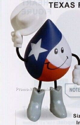 Texas Figure Squeeze Toy
