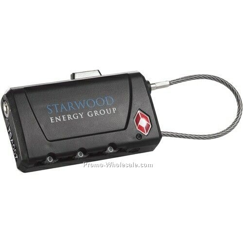 Travel Sentry Luggage Tag & Lock