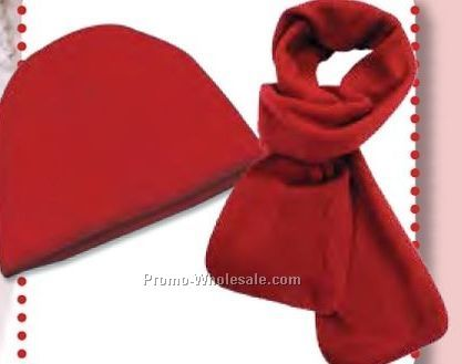 Urban Fleece Accessory Set (Blank)