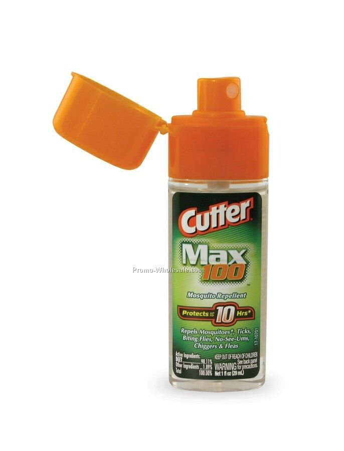 1 Oz. Cutter Max 100 Mosquito Repellent Spray