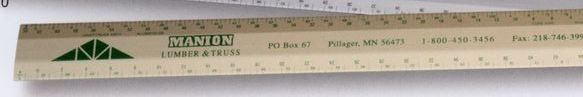 "12"" Joist / Truss Architect Scale (3/32, 3/16), (1/8, 1/4)"