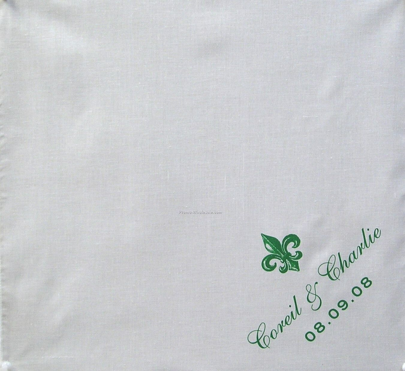 "14""x14"" Custom Printed Imported 100% Cotton Handkerchiefs"