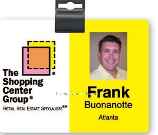 "3""x4"" Full Color Photo Id Badge"