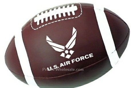 "7"" Brown Football Sport Pillow Ball"