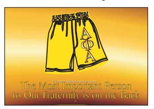 "Alpha Phi Alpha Fraternity Shorts Photo Hand Mirror (3-1/8""x2-1/8"")"