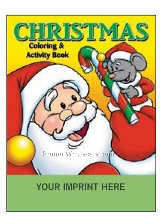 christmas coloring book fun pack