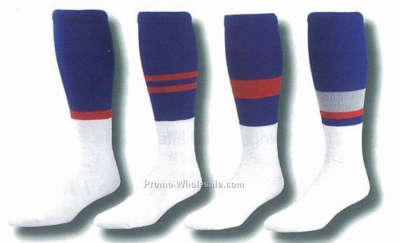Custom Striped Football Tube Socks (13-15 X-large)