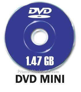 DVD Mini With 4 Color Color Process (1.47 Gigabyte)