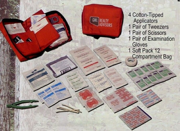 Deluxe Traveler's First Aid Kit