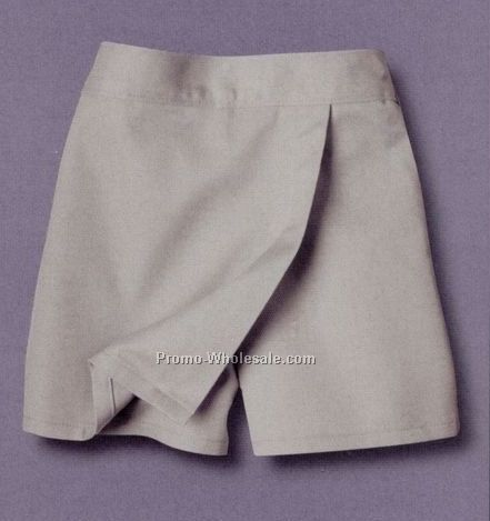 Dickies Girl's Faux Wrap Skort / Sizes 4-6x