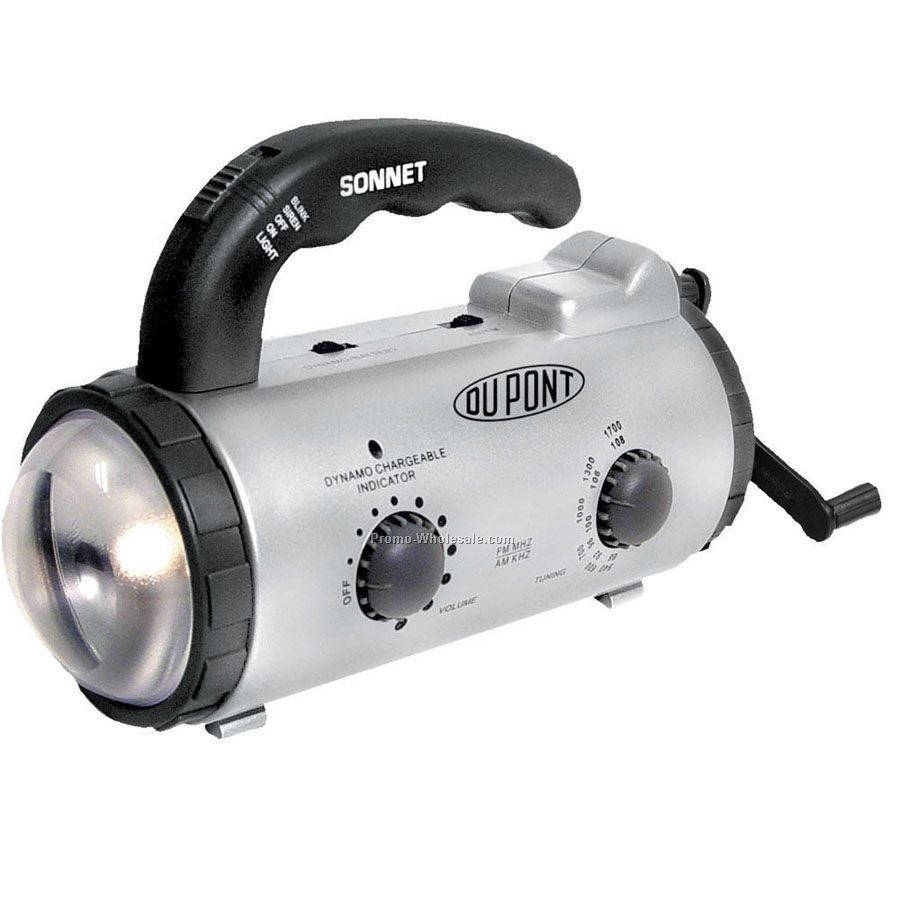 Dynamo Rechargeable AM/ FM Lantern Radio