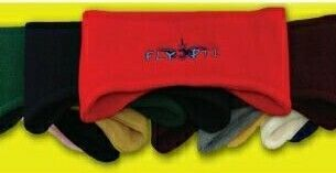 Embroidered Winter Fleece Ear Band (Large Quantities)