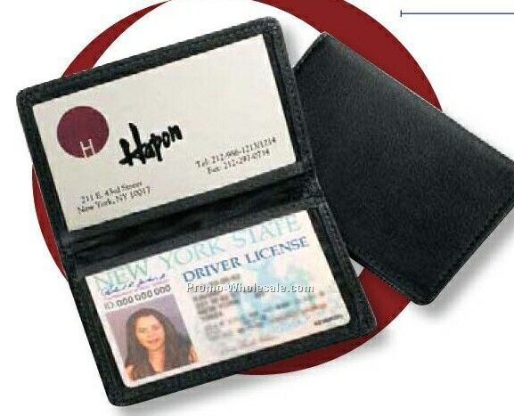 Florentine Napa Leather Id Holder