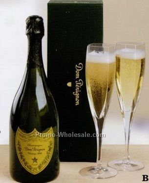Gifts Of Distinction - The Dom Perignon Experience (Champagne & Glasses)