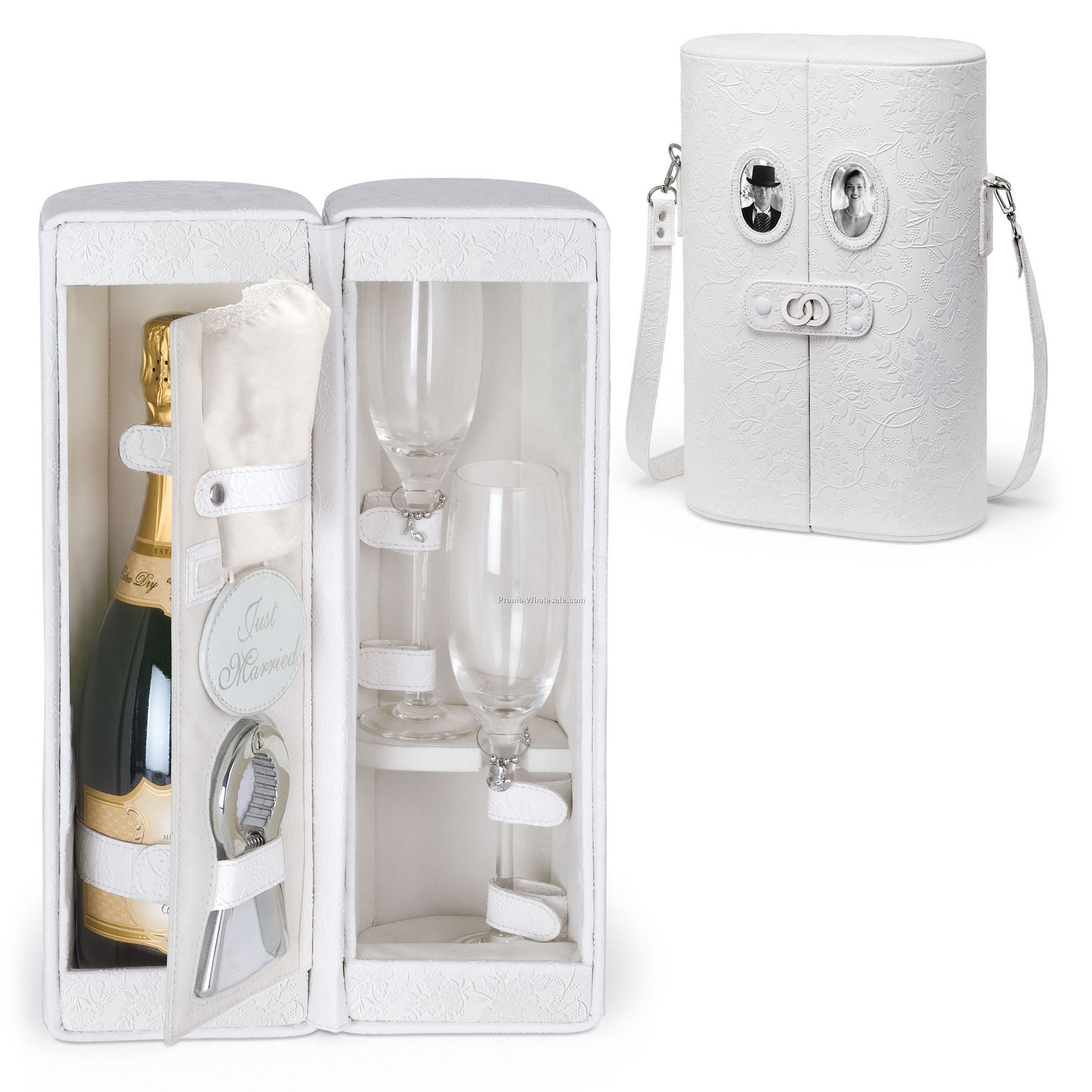 Harmony - Honeymoon Edition Single Bottle Champagne Case W/ Service For 2