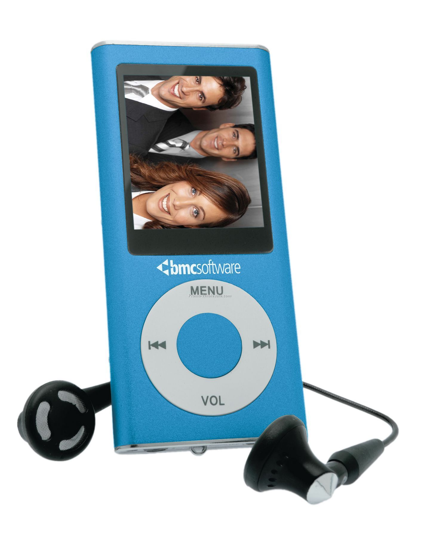 Juba Portable Media Player - Blue