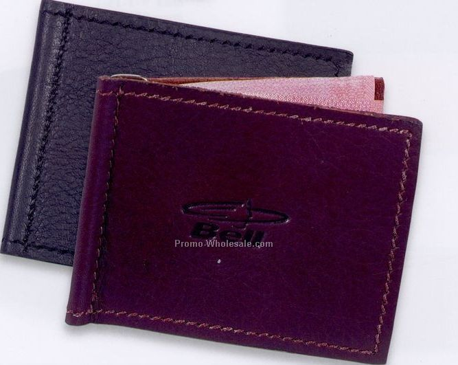 "Leather Billfold - 3-1/2""x3"""