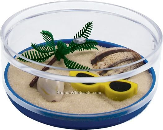 Life's A Beach Compartment Coaster Caddy