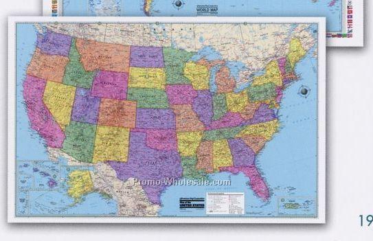 Mapschina Wholesale Maps - 8 1 2 x 11 us map