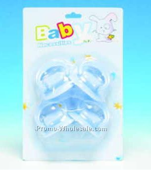 Pacifier W/ Larger Nipple (4-piece Blister Pack)
