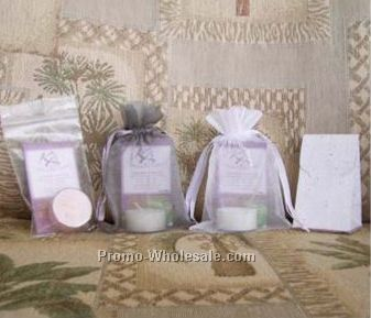 Relaxation Individual Packaged Tea Light Candle With Blooming Box